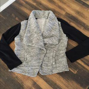 Halogen sweater jacket sz small euc